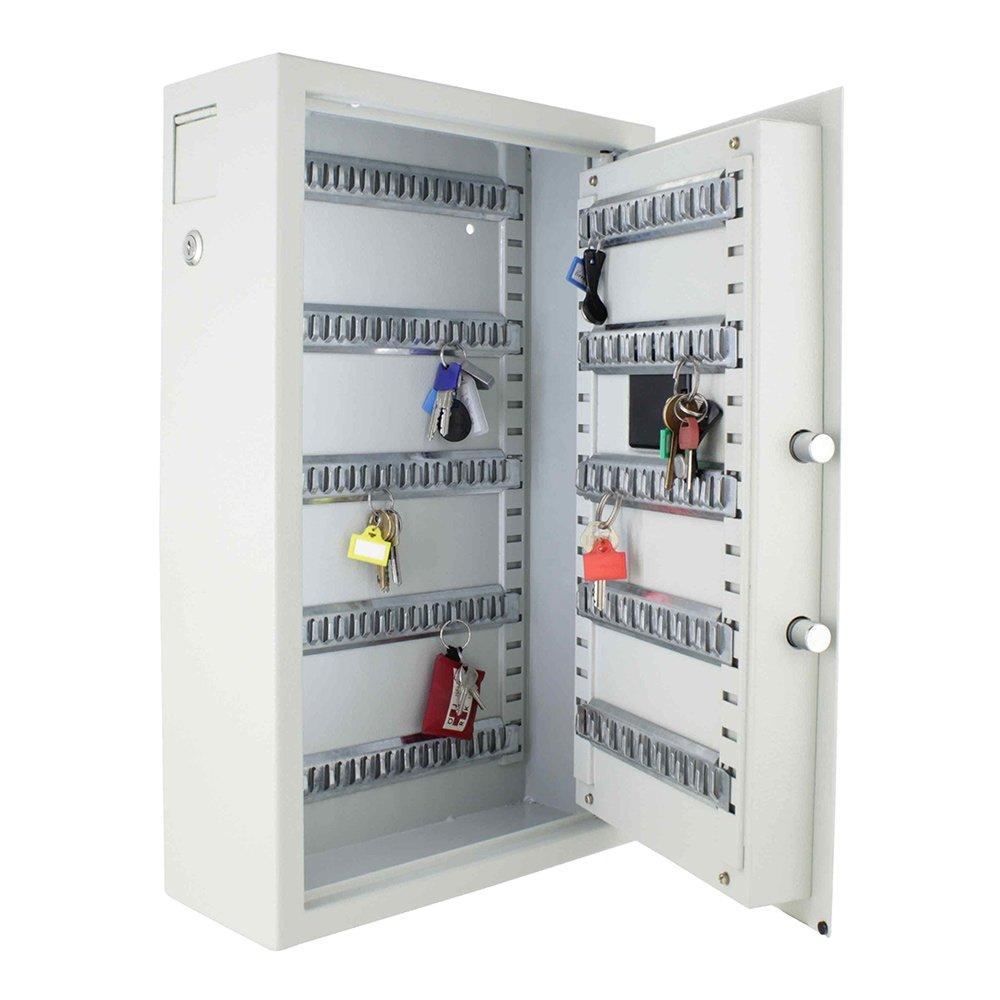 inkl Rottner Schl/üsseltresor Keytronic 100 mit Elektronikschloss Wandbefestigung mit seitlichem Einwurfschlitz 100 GRATIS Schl/üsselanh/änger Not/öffnung mittels Schl/üssel