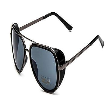Gafas de sol iron man cosplay aviador en espejo protección ...