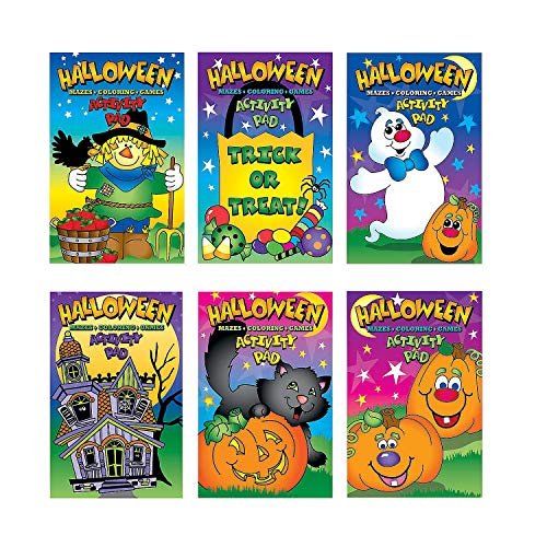 Fun Express HALLOWEEN ACTIVITY PADS (1 DOZEN) - BULK