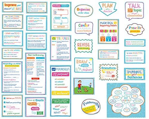 Creative Teaching Press Become a Better Writer Mini Bulletin Board Set (6966)