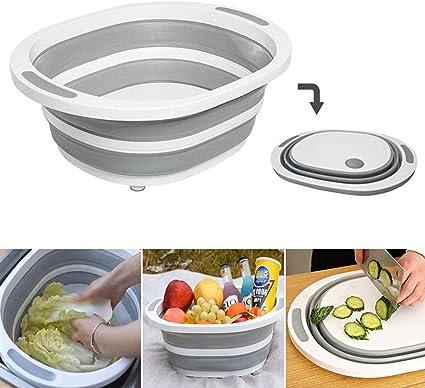 Tabla de cortar plegable para secar platos, verduras, frutas ...