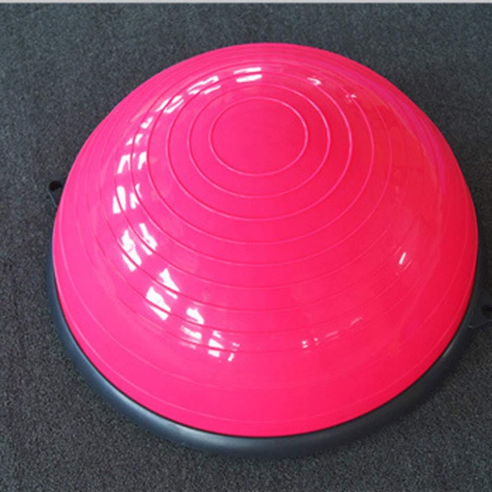 【国内正規品】 ヨガバランストレーナー58センチバランストレーナーボールフィットネス強度エクササイズバランスボールとリフティングロープとポンプ B07RB3TCN8 B07RB3TCN8 Pink Pink Pink Pink, タクマチョウ:681252a9 --- arianechie.dominiotemporario.com