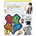 Perler Beads Harry Potter Pattern Instruction Pad 53 Patterns Multicolor