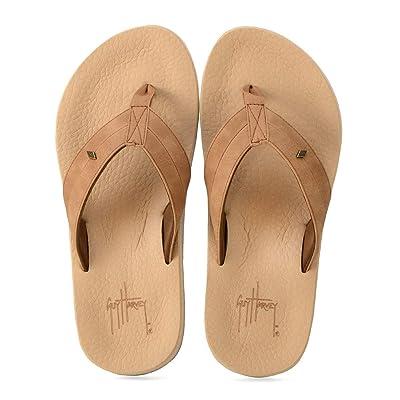 Amazon.com | Guy Harvey Men's Castaway Flyer Flip-Flop | Sandals