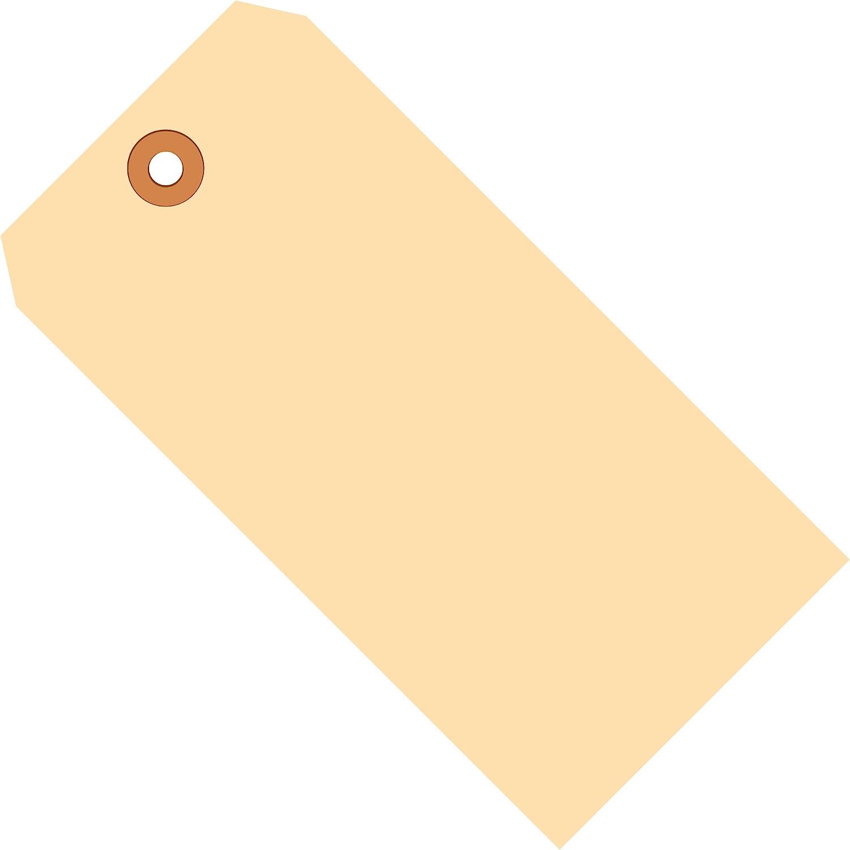 "Aviditi G10081 13 Point Cardstock Shipping Tag, 6-1/4"" Length x 3-1/8"" Width, Manila (Case of 1000)"