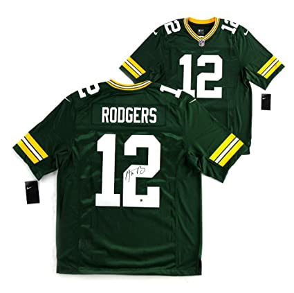 002d4ab1a Autographed Aaron Rodgers Jersey - Nike Limited - Autographed NFL Jerseys