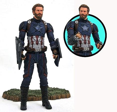 Amazoncom Diamond Select Toys Marvel Avengers Infinity War Captain