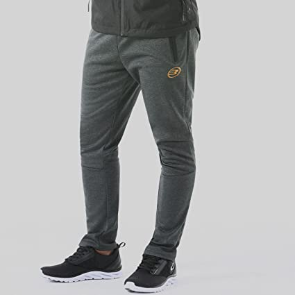 Bull padel Aguele Pantalones, Hombre, Gris (206), S