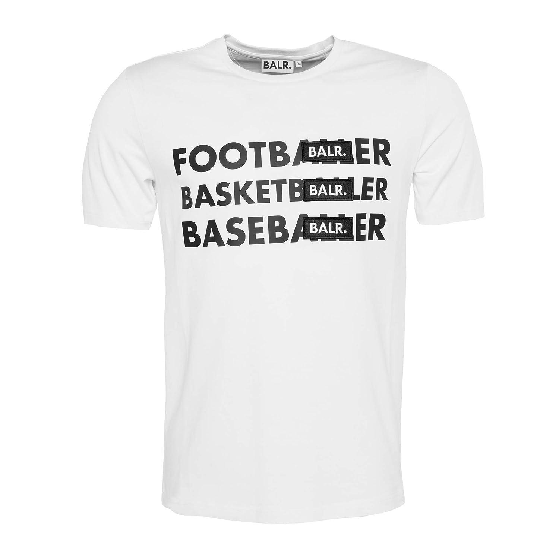 50-70%off running shoes outlet store sale Amazon.com: BALR Men's Football Basketball Baseball Badge T ...