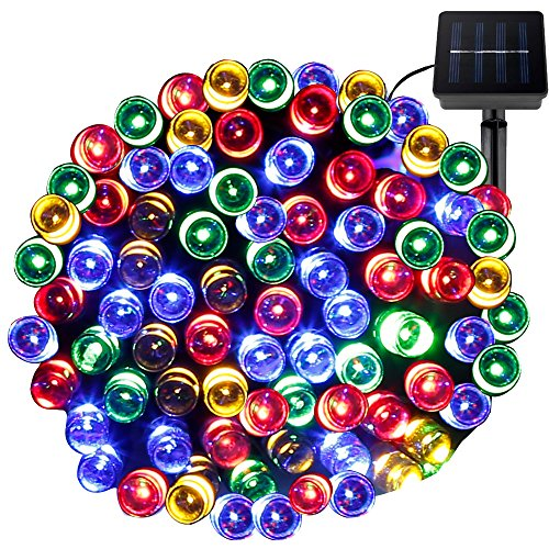 LE-Christmas-LED-Fairy-String-Lights-Solar-Power-RGB-100-LEDs-55-ft17m-Waterproof-Multi-color-Light-Sensor-Ambiance-Lighting-Wedding-Party-Patio-Holiday-Festival-Celeration-Decoration