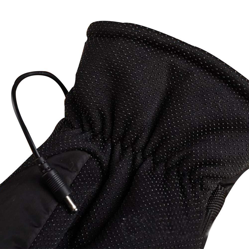 per Guantes Calefactables 12V para Hombres y Mujeres Manoplas para Moto Guantes de Calefacci/ón Accesorios T/érmicos de Invierno