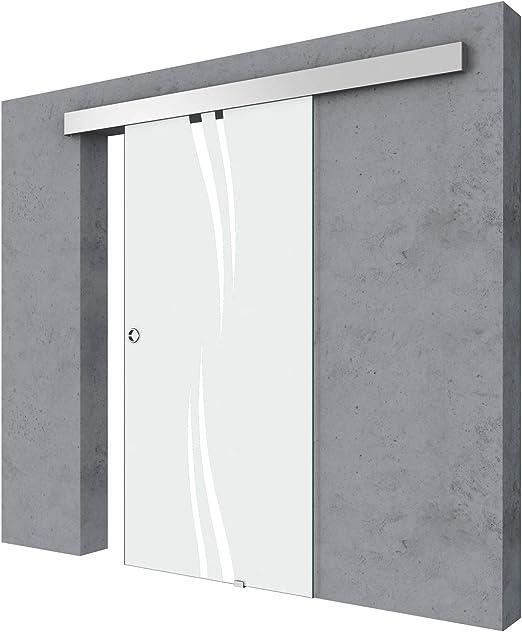 Puerta corrediza interior. Durovin Bathrooms. Moderna, ultra elegante, de alta calidad, con diseño del siglo XXI, de cristal, para dormitorio, baño, cocina u oficina.: Amazon.es: Bricolaje y herramientas