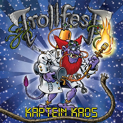 Trollfest: Kaptein Kaos (Limited Edition inkl. Bonus-DVD) (Audio CD)