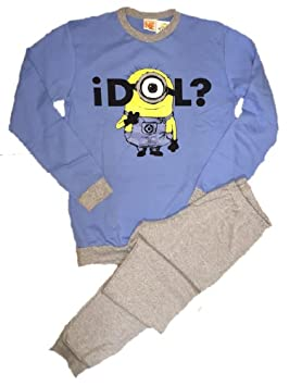 Pijamas hombre Minions de Mi villano favorito movie reversible algodón de *01321-small
