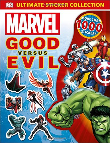 Ultimate Sticker Collection: Marvel Good versus Evil (Ultimate Sticker Collections) (Superhero Sticker Book)