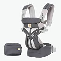 Omni 360 Baby Carrier All-in-OneCool Air Mesh - Carbon Grey