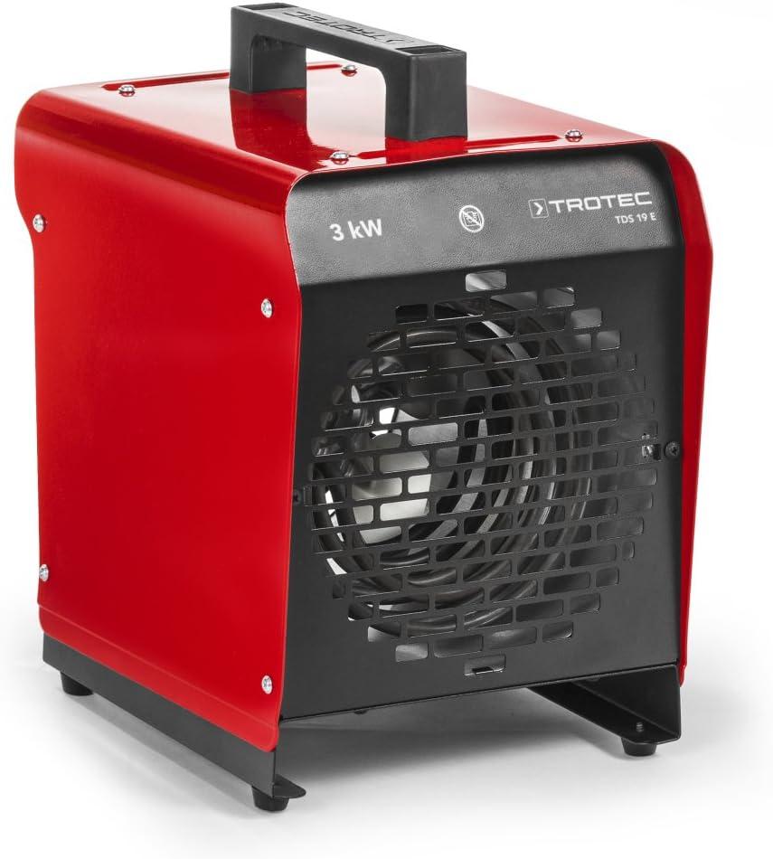 Max. 3 kW Calefactor el/éctrico TDS 19 E TROTEC