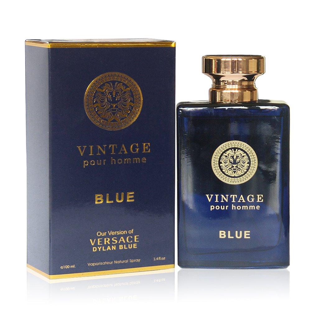 VINTAGE BLUE, 3.4 fl.oz. Eau de Parfum Spray for Men, Perfect Gift