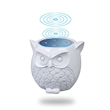 Lautsprecher Ständer,Lanmu Figur Eule Lautsprecher Ständer Halterung  Schutzhülle Cover Case Für Amazon Echo Dot