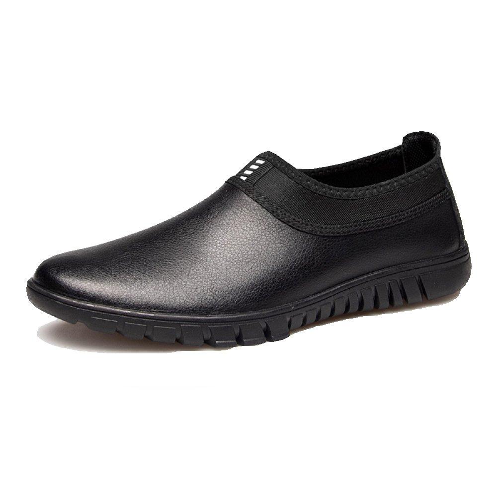 YXLONG Zapatos De Los Hombres Suaves Zapatos De Cuero Huecos Transpirables De Verano Zapatos Casuales De Negocios Zapatos De Los Hombres,Legswithblack(Withoutholes)-42 42|Legswithblack(Withoutholes)