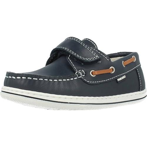 Zapatos de cordones para ni�o, color Azul , marca PABLOSKY, modelo Zapatos De Cordones Para Ni�o PABLOSKY NICOS TRACK Azul