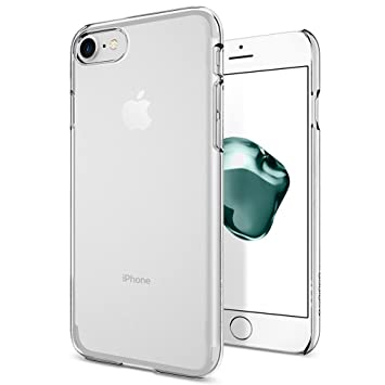 Donkeyphone Cristal Clear - Carcasa Dura para Apple iPhone 6/6S, Transparente
