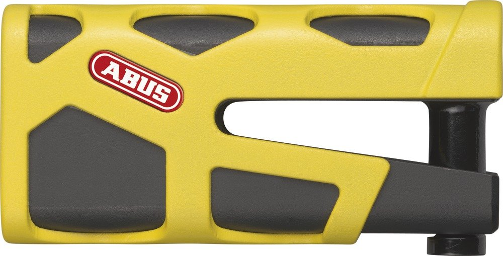 ABUS Granit Sledg 77 Web Disc Lock Yellow by ABUS