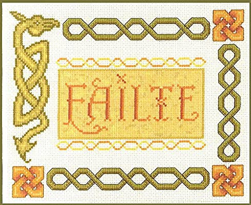 If Verse Sampler complete cross stitch kit on 14 aida with COLOUR chart