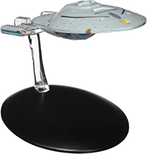 Eaglemoss Publications Star Trek The Official Starships Collection #5: USS Voyager Ship Replica Toy, Multicolor