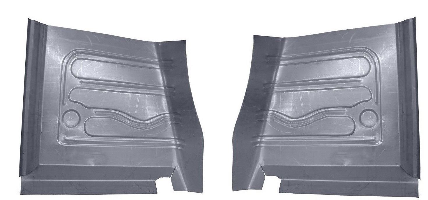 Motor City Sheet Metal Works With 1966 67 68 69 70 1971 FORD FALCON FAIRLANE TORINO RANCHERO FRONT FLOOR PANS PAIR