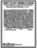 FlexiStamps Texture Sheet Shona Brooks Circles Positive Design - 1 pc.