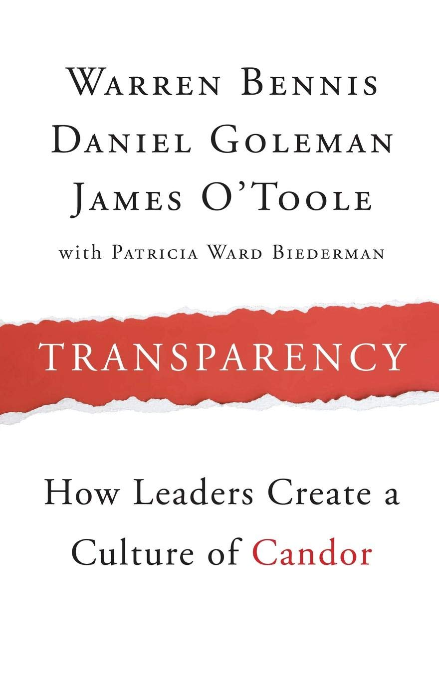 Transparency and Leaders Will to Create a Culture of Candor