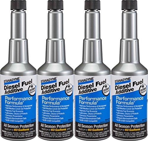 Stanadyne Performance Formula Diesel Fuel Additive – Pack of 4 Pint Bottles – Part # 38565