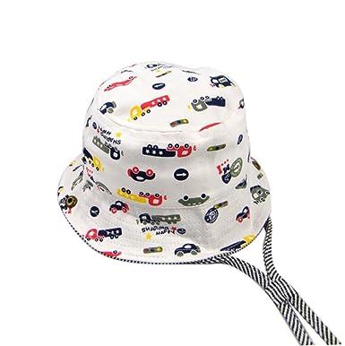 Bébé Chapeau de Soleil D été Garçon Fille Enfants Casquette De Pêche  Chapeau UV Protection 3eb608af75f