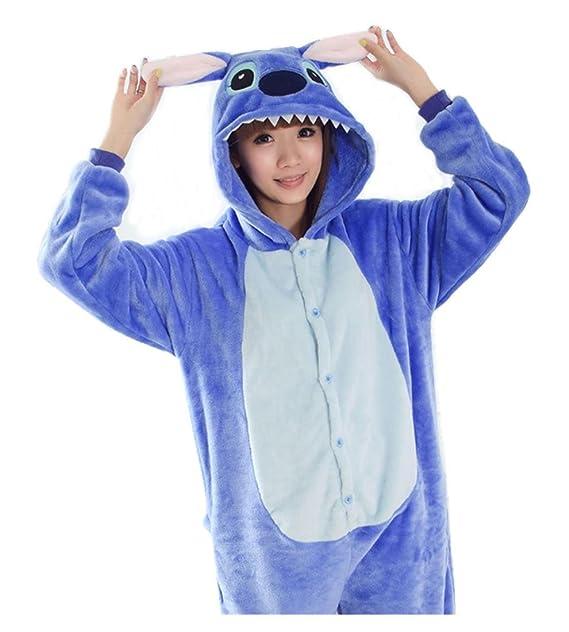 Acquista autentico grande vendita comprare a buon mercato TuTu@ Flanella un pezzo pigiama blu cartone animato LILO e ...