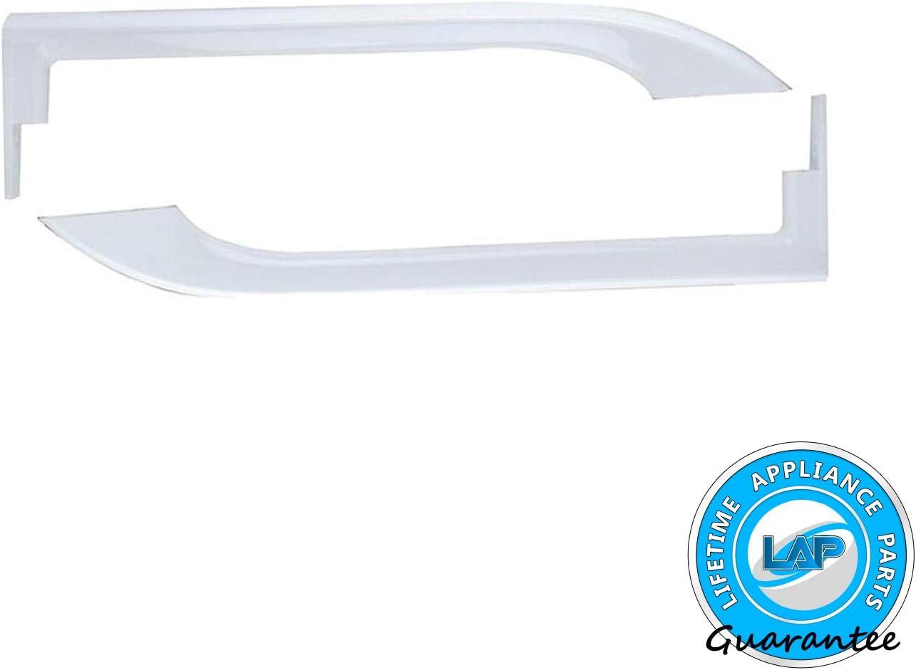 242059504-1 Year Warranty! Lifetime Appliance 5304506469 Door Handles Compatible with Frigidaire Refrigerator 242059501 5304504507 5304486359