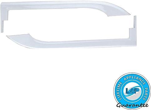 Electrolux Frigidaire Refrigerator /& Freezer Door Handle Set White 5304504507