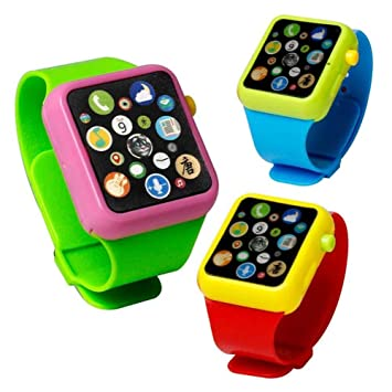 Sunsoar Kids Early Education Smart Watch Learning Machine 3DTouch Screen Wristwatch Birthday Chriamas New Year Gift Puzzle Education Learning