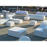 Pouf e divanetti per esterno in sky nautico, vari colori e misure personalizzate