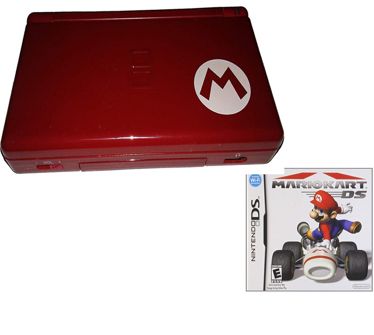 Amazon Com Nintendo Ds Lite Limited Edition Red Mario With Mario