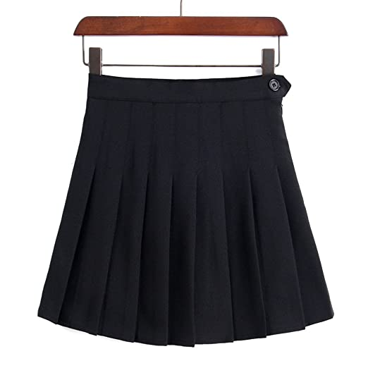 31780fff35 Arichtops Summer High Waist Pleated Skirts Women Girls Solid A-line ...