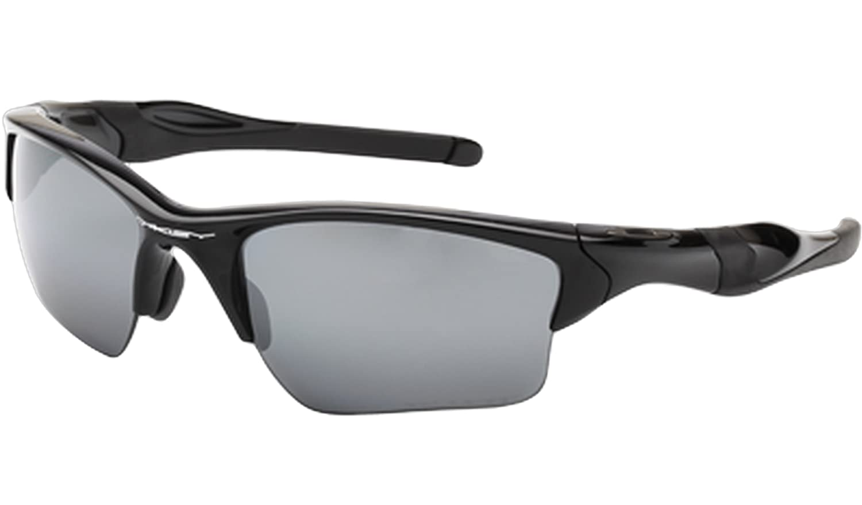 dcfd1c009ae Amazon.com  Oakley Half Jacket 2.0 Xl Polarized Sunglasses Black  Clothing