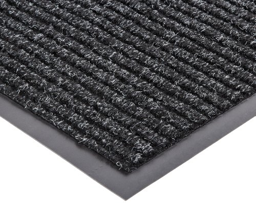 (NoTrax 109 Brush Step Entrance Mat, for Lobbies and Indoor Entranceways, 2' Width x 3' Length x 3/8