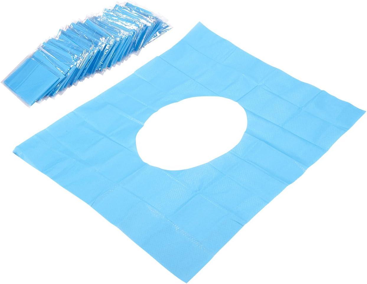 //étanche papier toilette couvertures/ /Couvertures de si/ège de toilette jetables/ De 50/ /Couvertures de toilette jetables emball/ées individuellement