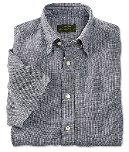 dd2c607d29 Orvis Men s Short-sleeved Pure Linen Shirts   Pure Linen Shirts ...