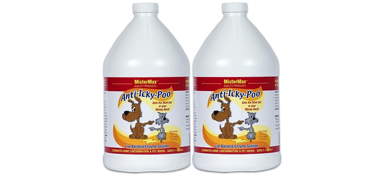 MISTERMAX Anti Icky Poo (2) Gallon Set with Free Application Video Instructions