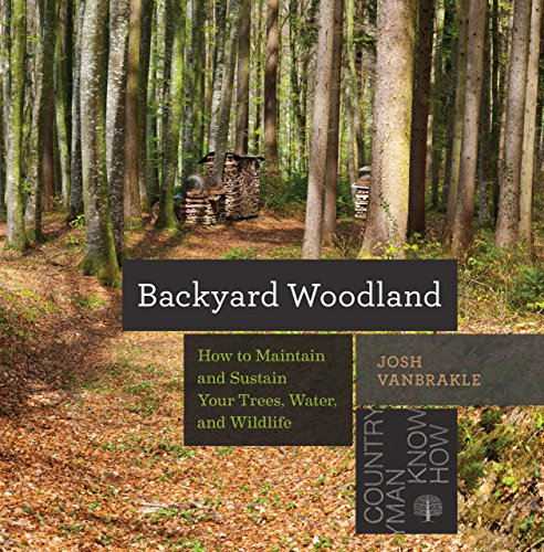 Backyard Woodland: How to Maintain and Sustain Your Trees, Water, and Wildlife (Countryman Know How) by [VanBrakle, Josh]