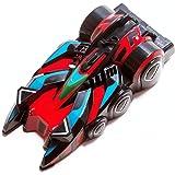 Monsterzeug Anti Gravitations Auto, 3D Kletterauto, ferngesteuert, 3-Kanal-Fernbedienung, ferngesteuertes Auto, Kletterfahrzeug, rot