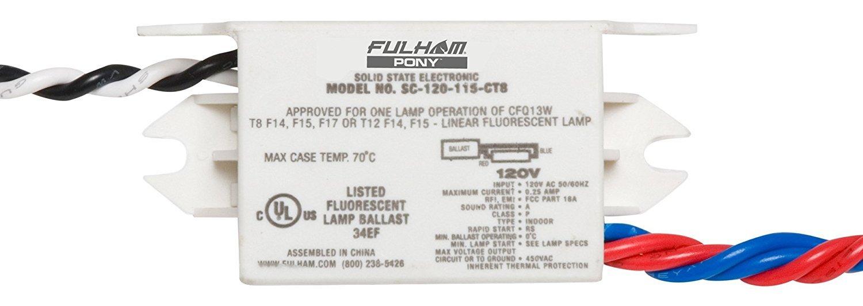 Fulham Sc 120 115 Ct8 Sugar Cube Ballast Home Improvement Wiring Diagram