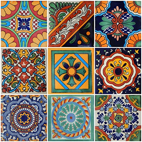 Color y Tradicion 9 Mexican Tiles 4